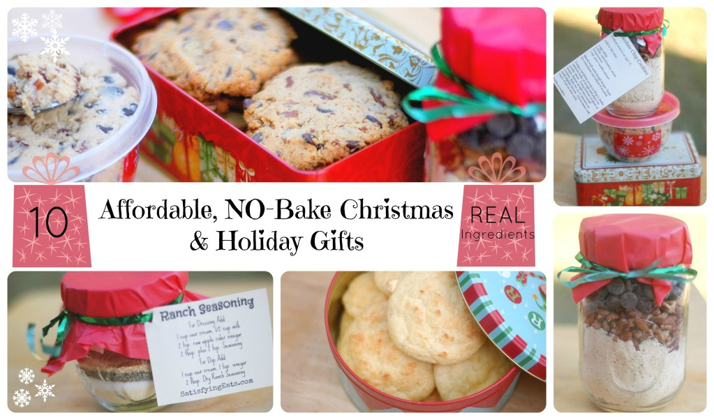 10 Affordable, NO-Bake Christmas and Holiday Gifts