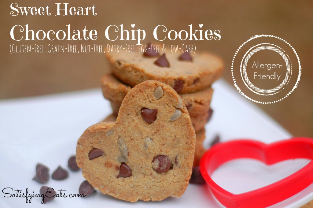 sweet heart cookies allergen friendly