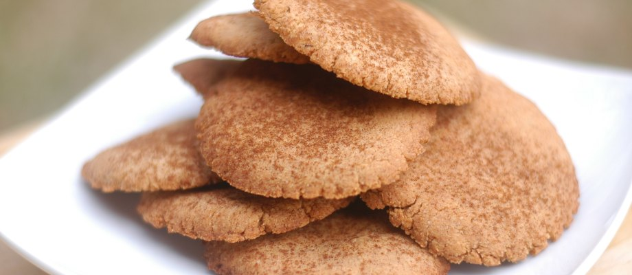 Grain-Free Snickerdoodle Cookies