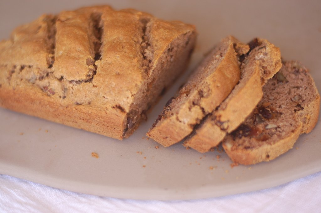 Cinnamon Raisin Soda Bread