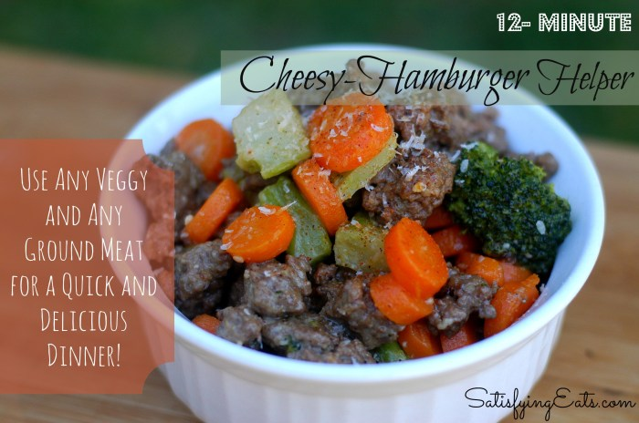 Cheesy Hamburger Helper