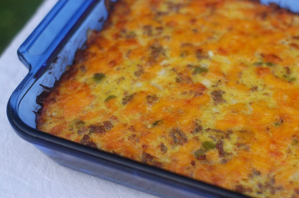 Breakfast Casserole with Spaghetti Squash