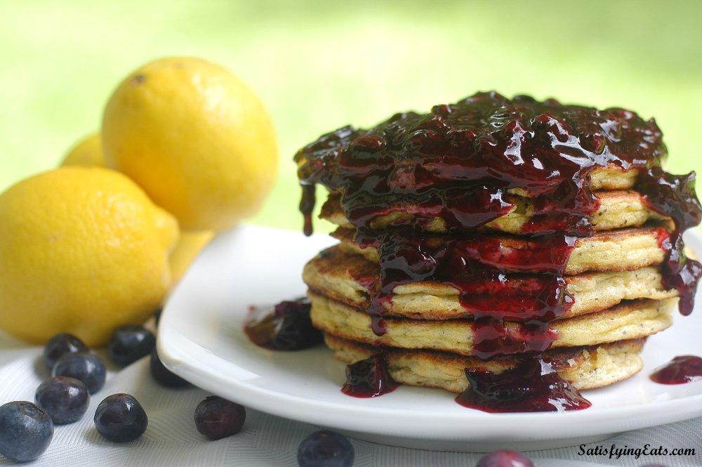 Light & Fluffy Lemon-Poppy Seed Pancakes