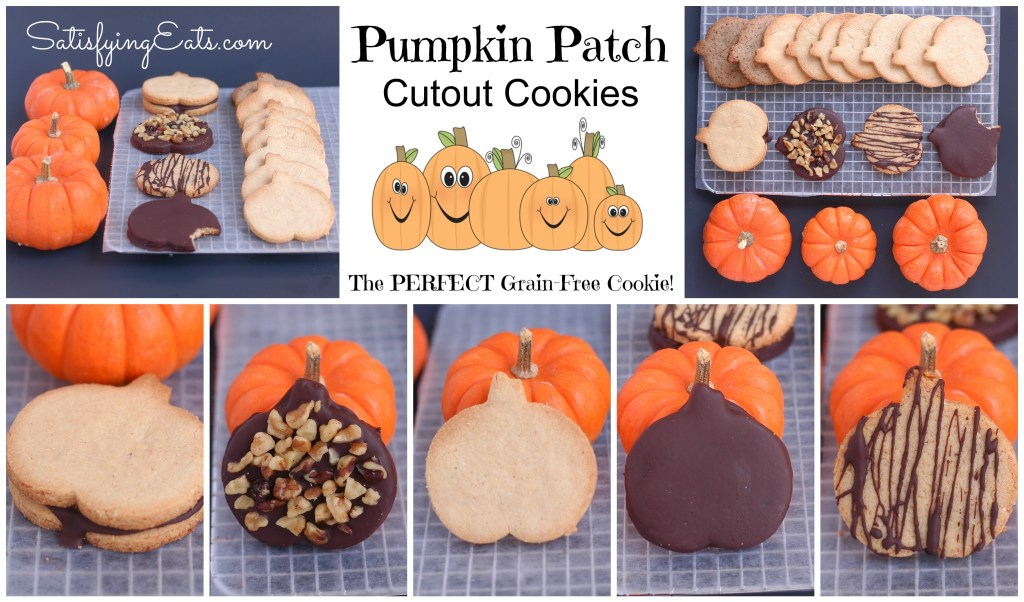 Pumpkin Patch Cutout Cookies