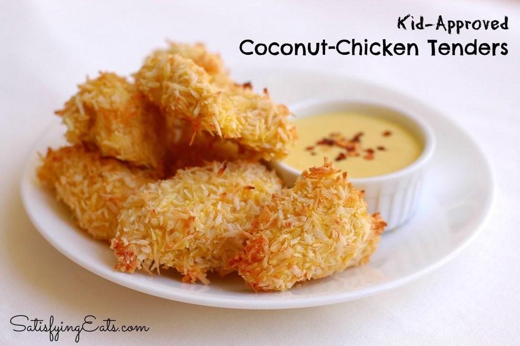 Kid-Approved Crispy Coconut Chicken Tenders