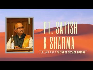 Hangout with Pt Satish K Sharma on what he sees in 2020 for the UK, Hindutva and the World