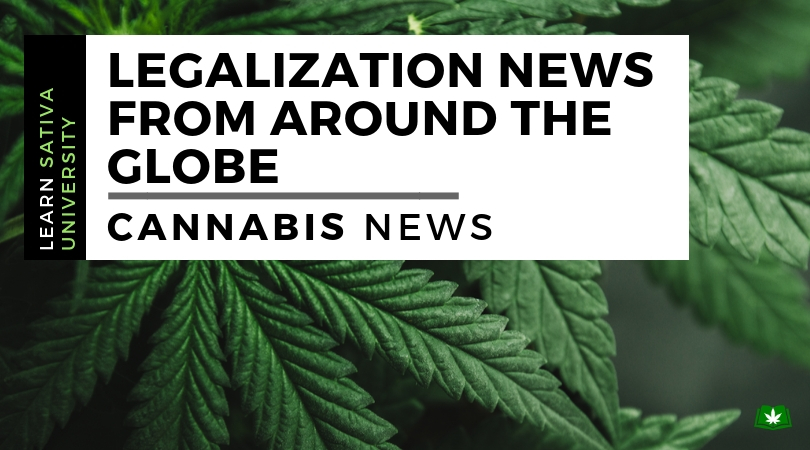 Legalization News from Around the Globe