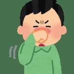 花粉症によって鼻が…