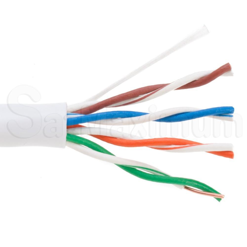 medium resolution of 1000ft cat5e utp solid bare copper network ethernet lan cable bulk 1000 ft cat5e utp