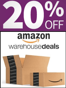 Amazon Warehouse 20% Off