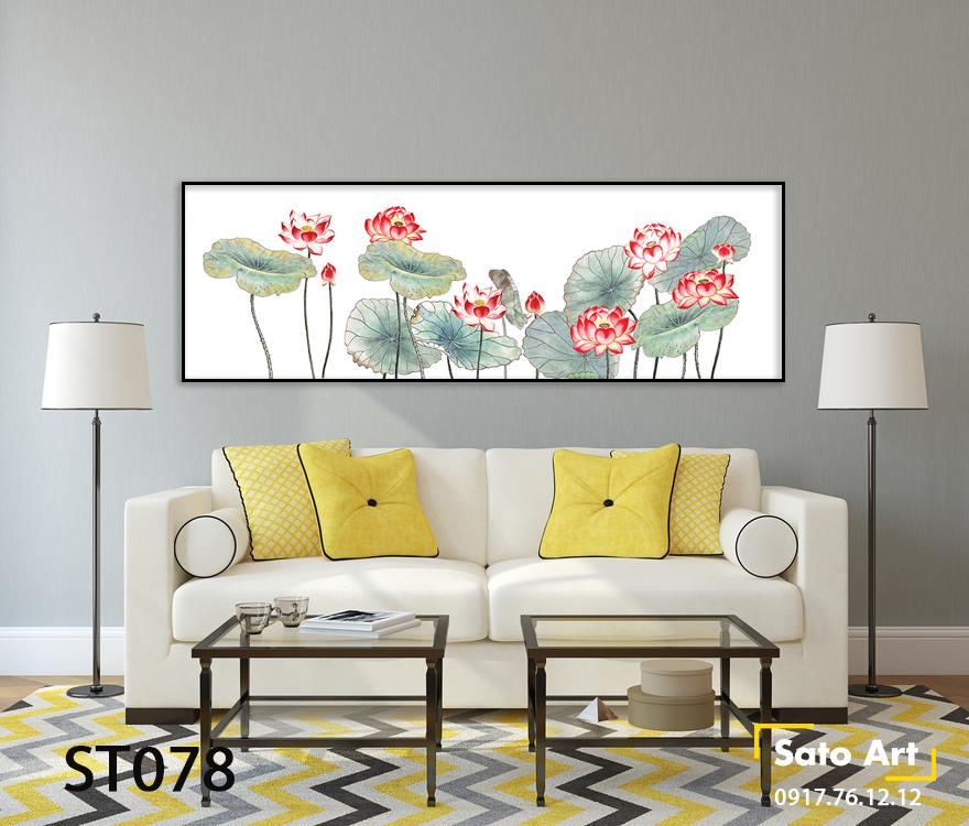 Tranh sơn dầu vẽ hoa đẹp