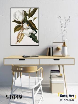 Tranh sơn dầu trang trí phòng khách