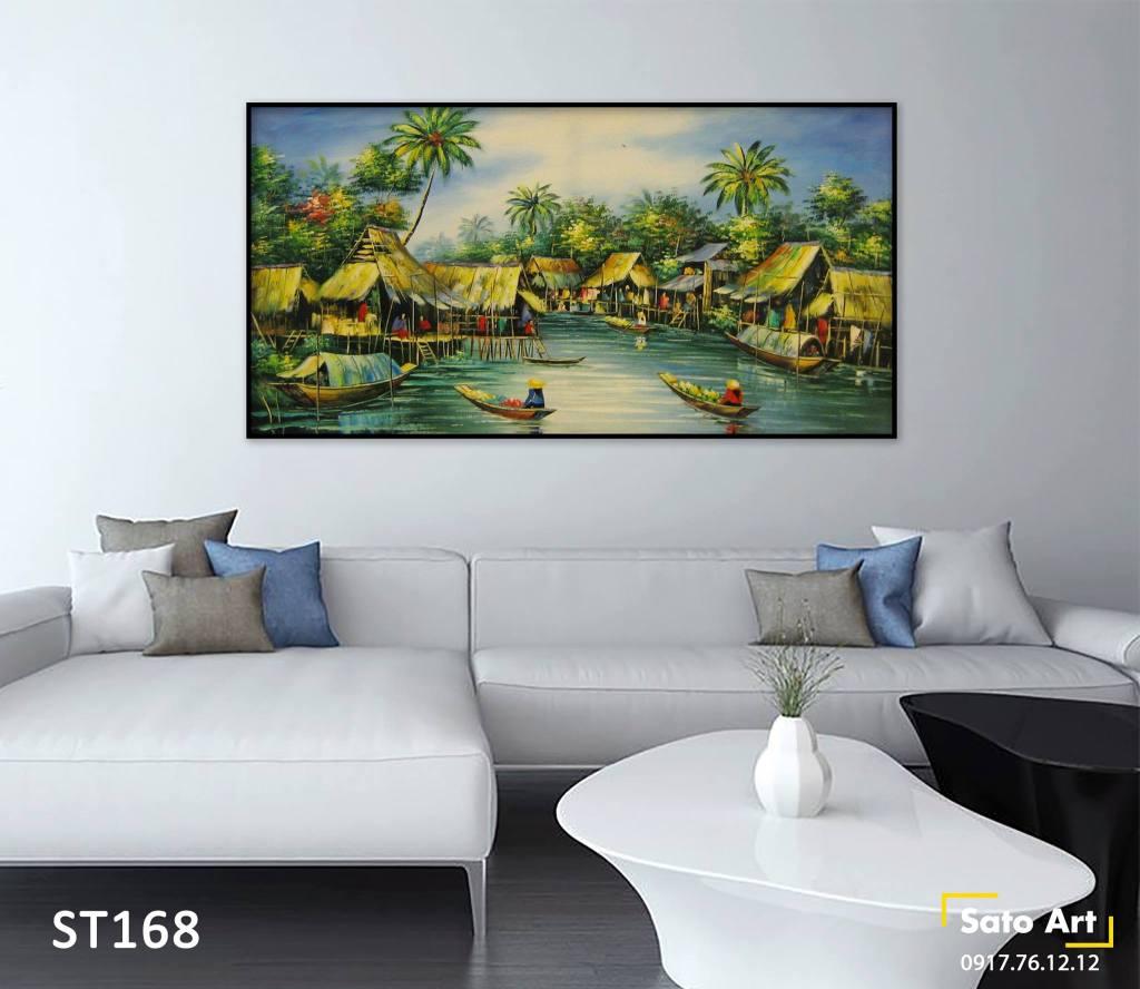 giá tranh phong cảnh treo tường