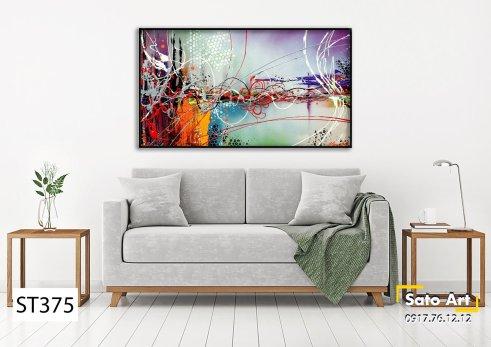 Tranh tường đẹp sơn dầu