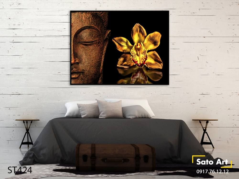 Tranh sơn dầu Đức Phật