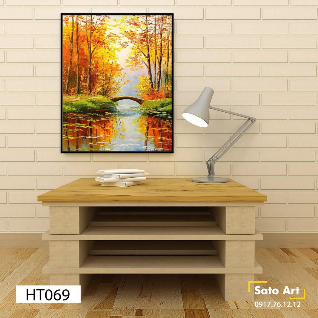 Giá tranh phong cảnh mùa thu