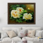 Tranh The Beauty of White Roses