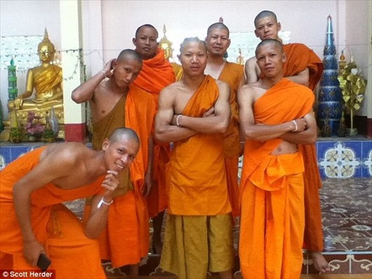 タイの僧侶