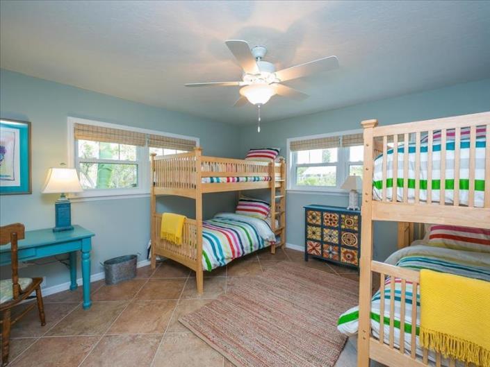 vacation rental home bedroom