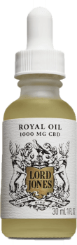LORD JONES Royal Oil 1000mg Pure CBD Oil