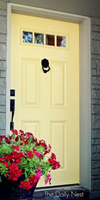 Beautiful Front Door Paint Colors - Satori Design for Living