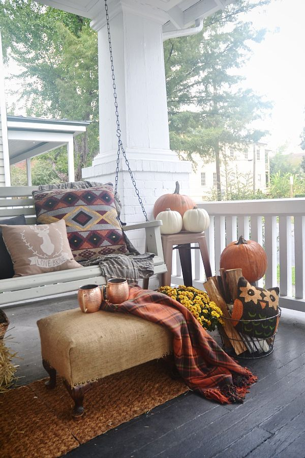 primitive decorating ideas for living room rooms with fireplaces photos fall front porch - satori design
