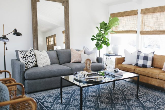 living room decorative pillows molding tips for mixing throw in the satori design on sofa by house of jade interiors