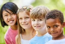 Happy Kids Building Rapport