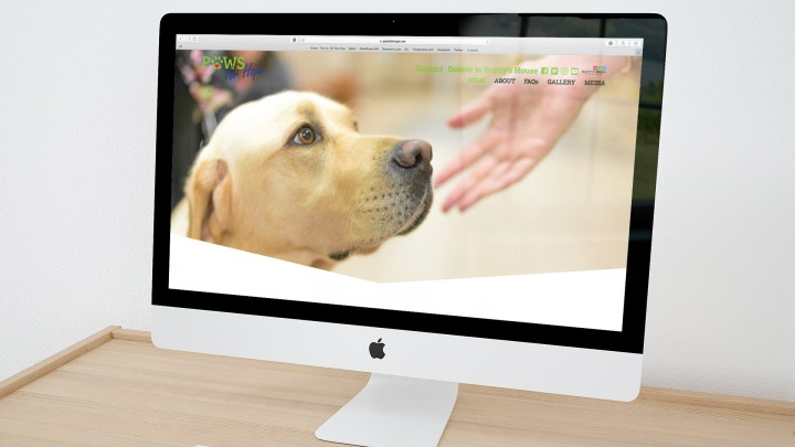 Paws for Hope Homepage