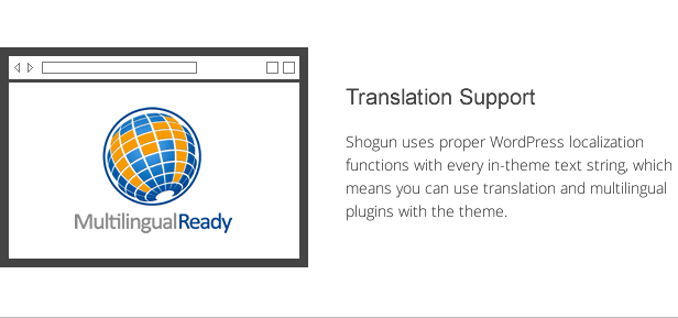 shogun features - translation support