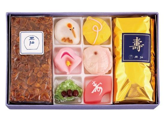 プレグラ・ブランデーケーキ・和生菓子6個