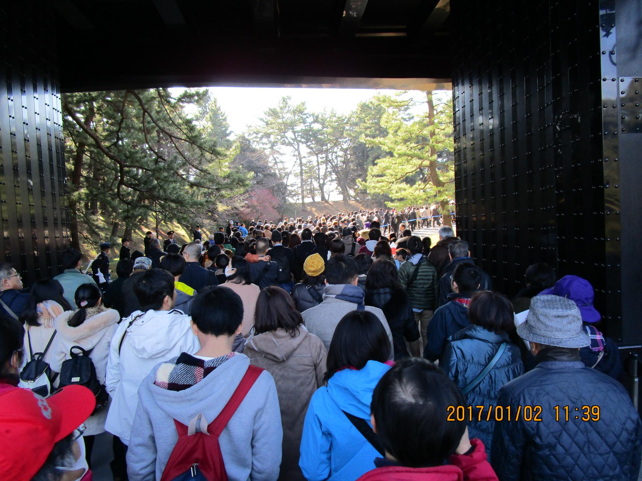 皇居一般参賀~靖国神社