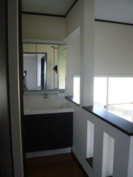 2階洗面コーナー