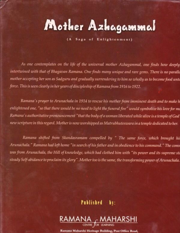 Mother Azhagammal - Backcover