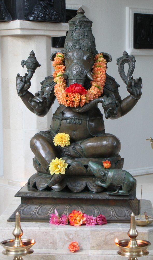 Ganesha at the SAT Temple
