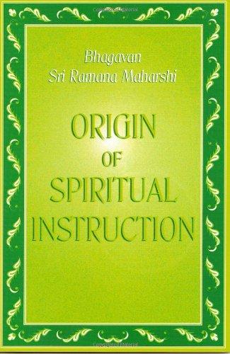 Society of Abidance in Truth | Origin of Spiritual Instruction