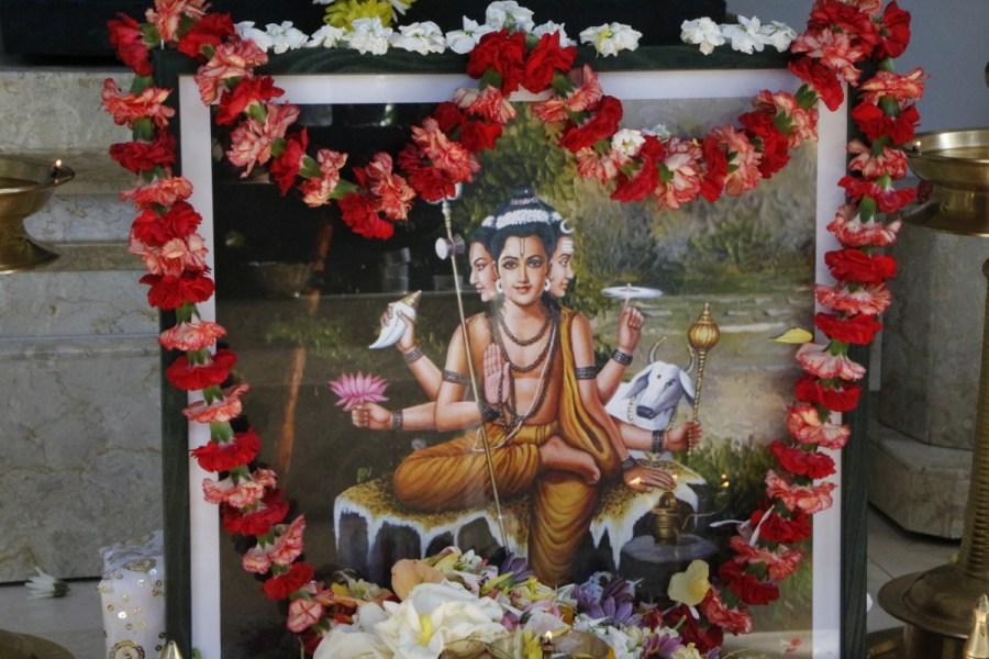 Lord Dattatreya from 2017 Dattatreya Jayanti