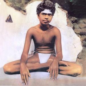 Sri Ramana - young