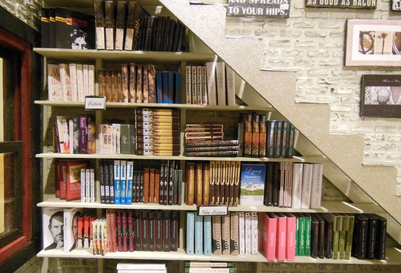 rumah sehat memiliki perpustakaan