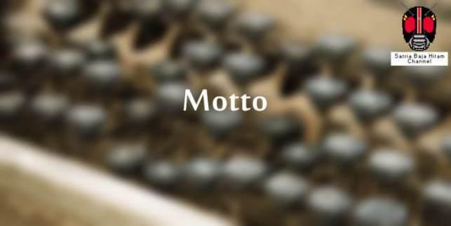 contoh lembar motto laporan prakerin smk