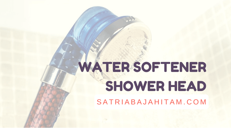 best water softener shower head