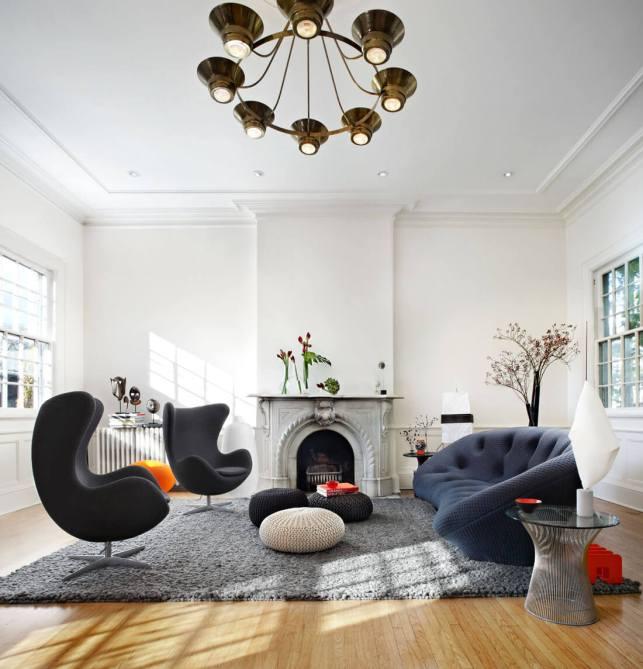 Eclectic Modern Living Room Ideas - freshomecom