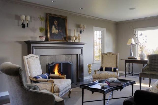 Fireplace Room Ideas with Social Elegance - pinterestcom