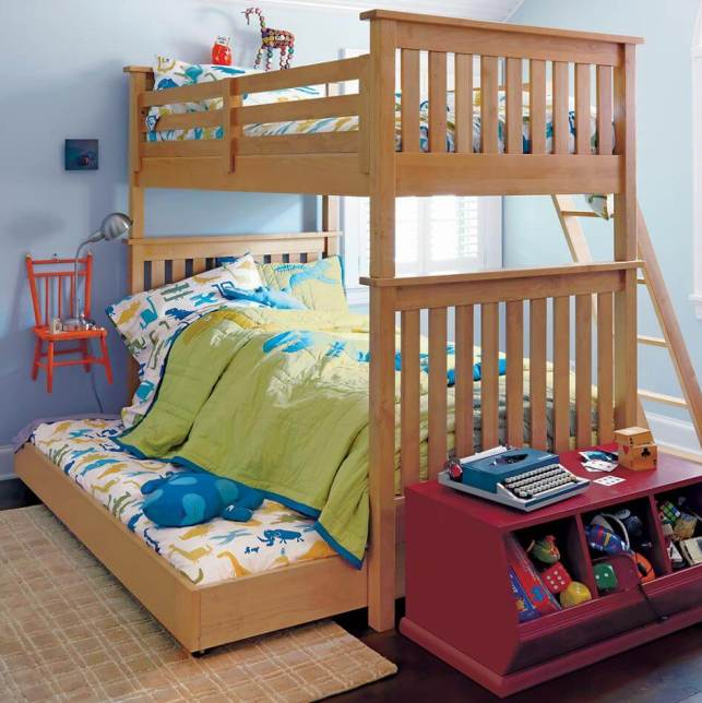 Minimalist and Simple Bunk Bed for Kids Ideas - projectnurserycom