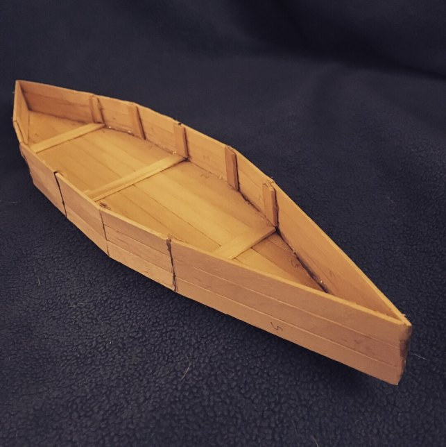 Popsicle Stick Boat - guidepatternscom