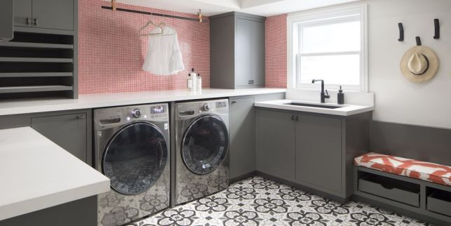 Streamlined Laundry Room Ideas with Luxury Feels - gridid