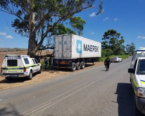 Stolen and recovered Chester Meats container