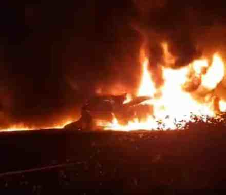 Truck Driver Burns To Death In Two-Truck Crash On N3 – Video