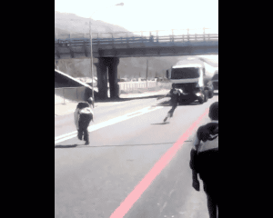 WATCH: Thank God I didn't kill pupils in viral freeway daring video