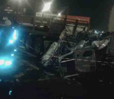 WATCH: Truck burst into flames at Durban Port